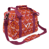 Virginia Tech Mini Duffel Bloom