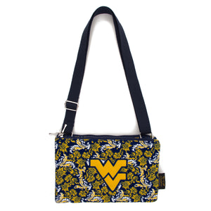 West Virginia Purse Cross Body Bloom