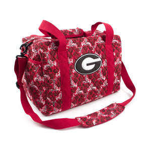 Georgia Bulldogs Mini Duffel Bloom