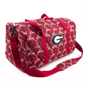 Georgia Bulldogs Large Duffel Bloom