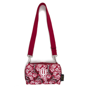 Indiana Hoosiers Wallet Cross Body Bloom