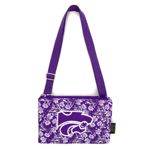 Kansas State Purse Cross Body Bloom