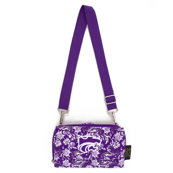 Kansas State Wallet Cross Body Bloom