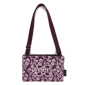 Mississippi State Bulldogs Purse Cross Body Bloom