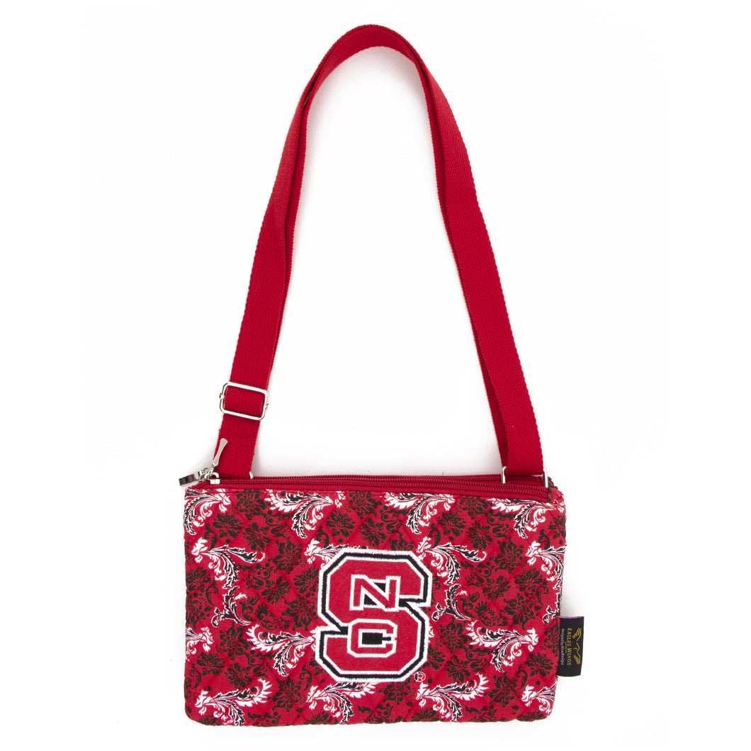 NC State Wolfpack Purse Cross Body Bloom