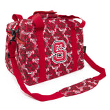 NC State Mini Duffel Bloom