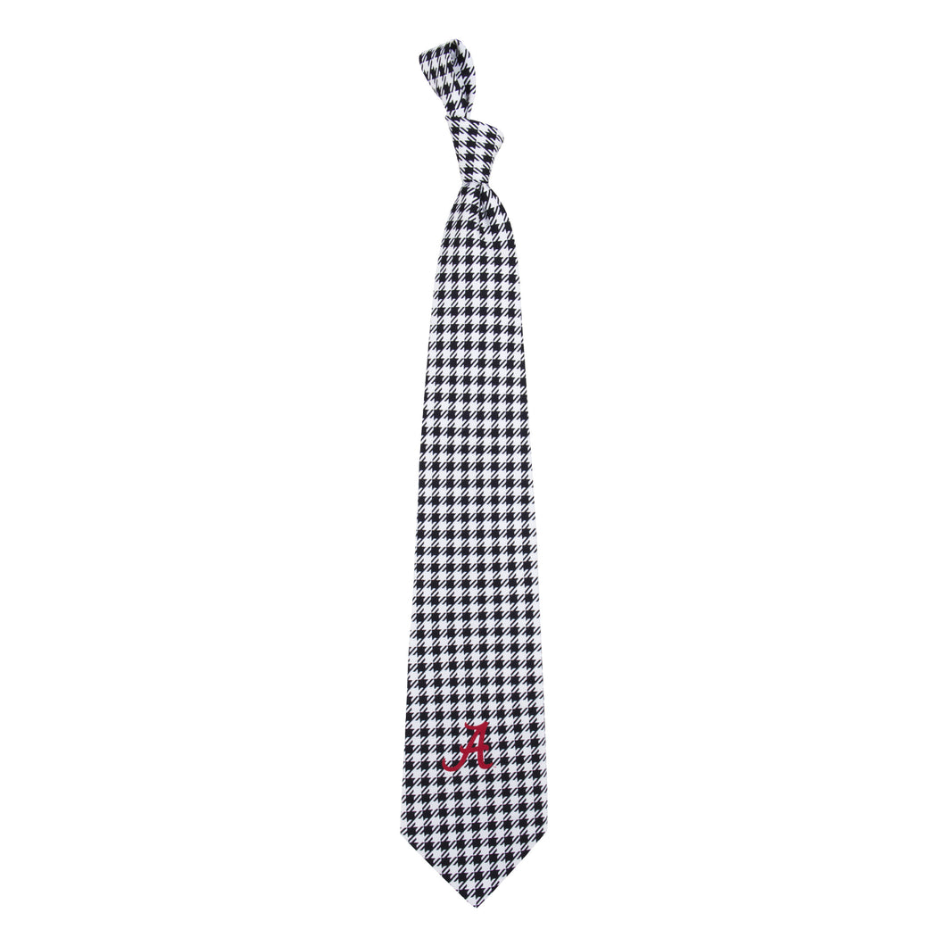Alabama Crimson Tide Tie Houndstooth