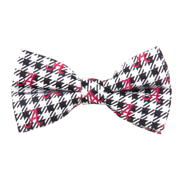 Alabama Bow Tie Houndstooth