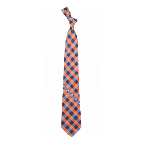 Oilers Tie Check
