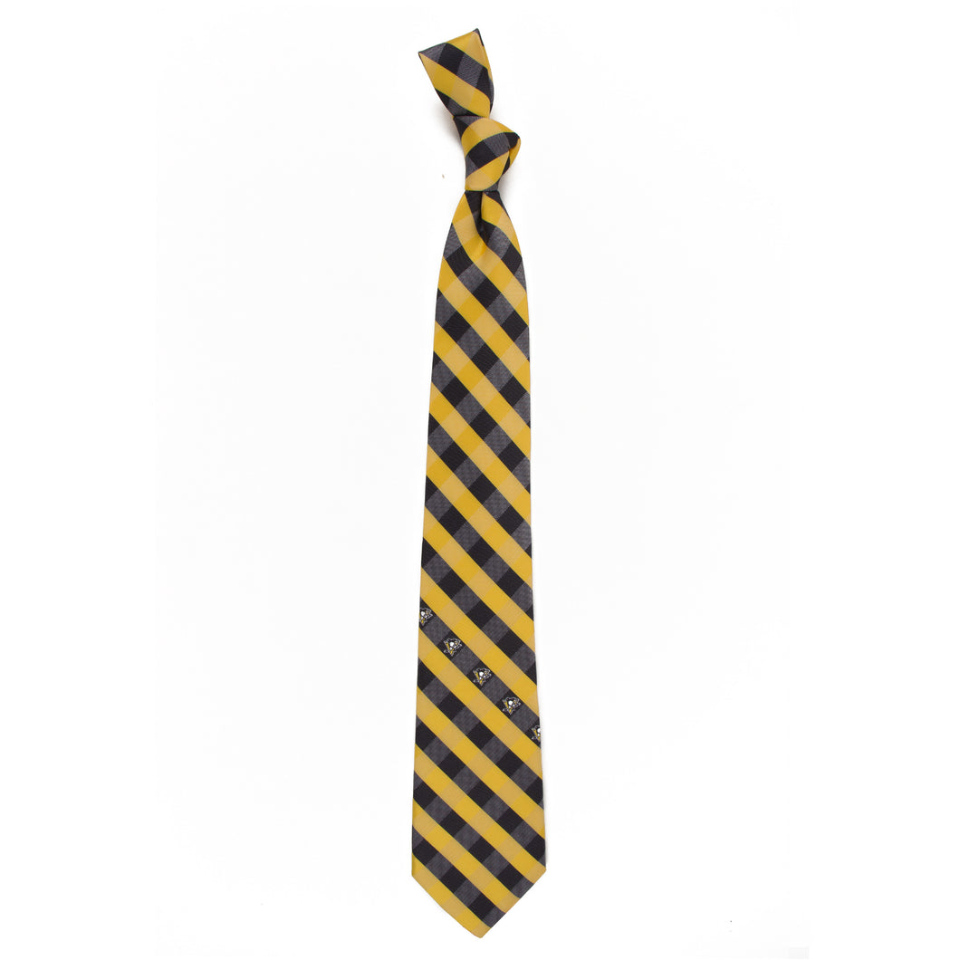 Penguins Tie Check