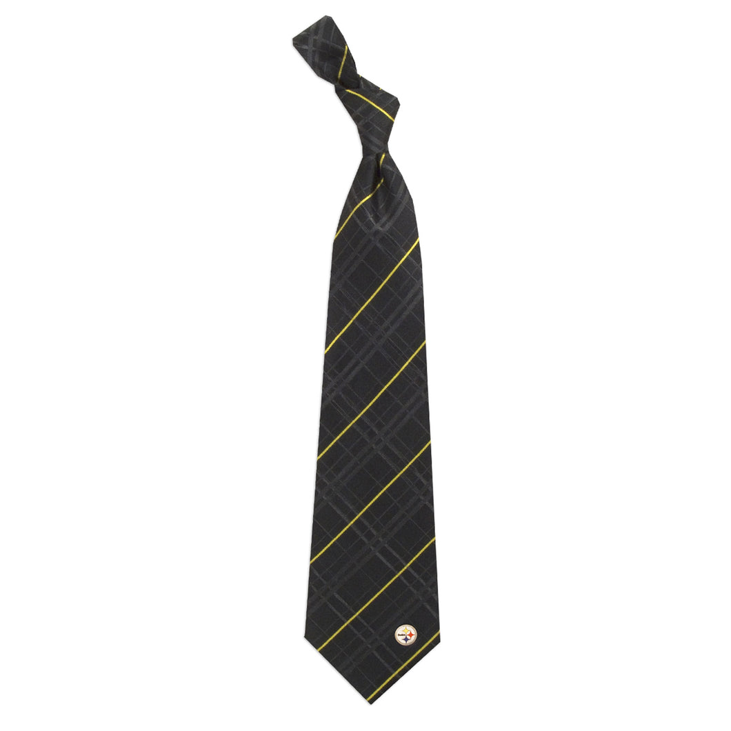 Pittsburgh Steelers Tie Oxford Woven