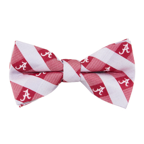 Alabama Crimson Tide Bow Tie Check