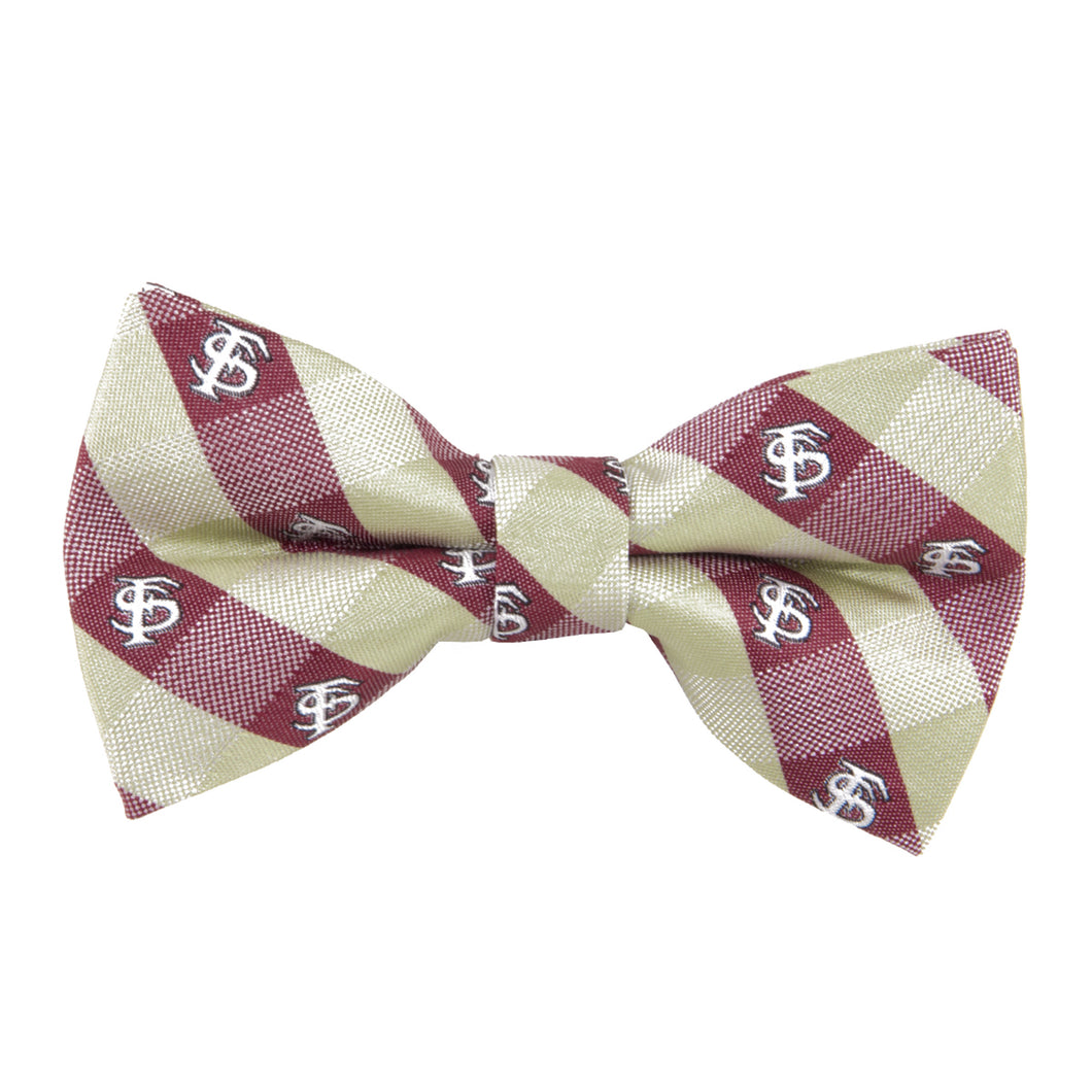 Florida State Seminoles Bow Tie Check
