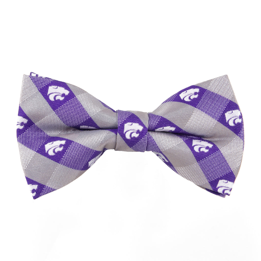 Kansas State Bow Tie Check