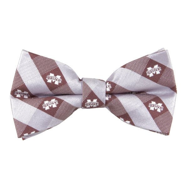 Mississippi State Bow Tie Check