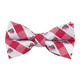 Ohio State Buckeyes Bow Tie Check