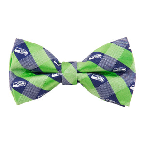 Seattle Seahawks Bow Tie Check
