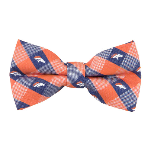Denver Broncos Bow Tie Check