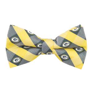 Green Bay Packers Bow Tie Check