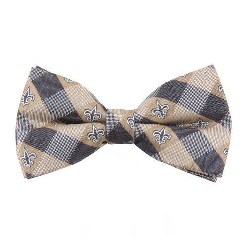 New Orleans Saints Bow Tie Check