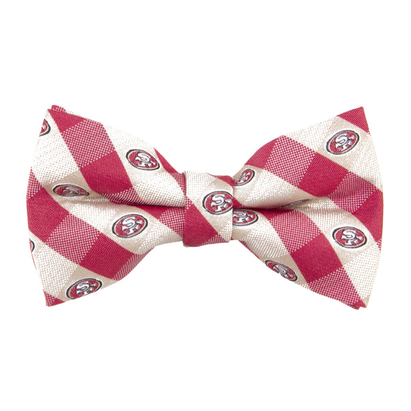 San Francisco 49ers Bow Tie Check