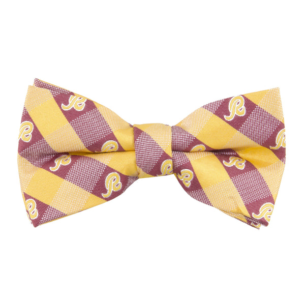 Washington Redskins Bow Tie Check