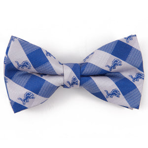 Detroit Lions Bow Tie Check