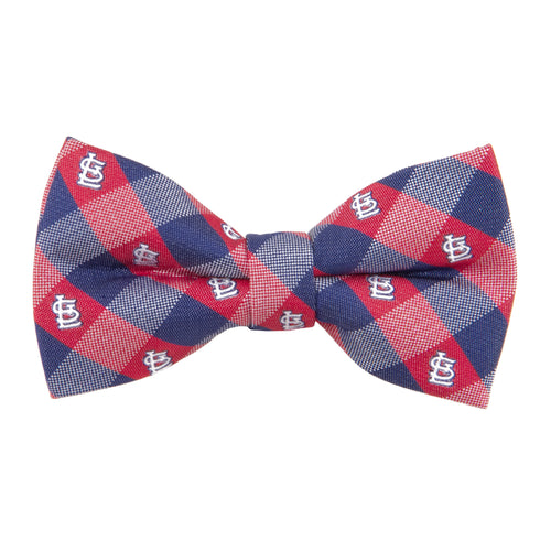 St. Louis Cardinals Bow Tie Check