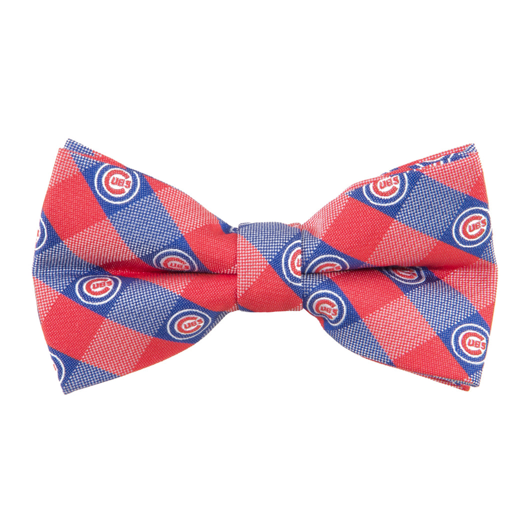 Chicago Cubs Bow Tie Check