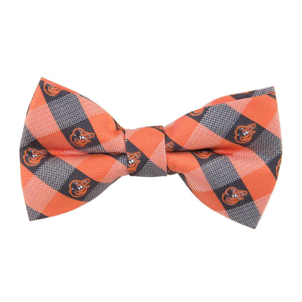 Baltimore Orioles Bow Tie Check