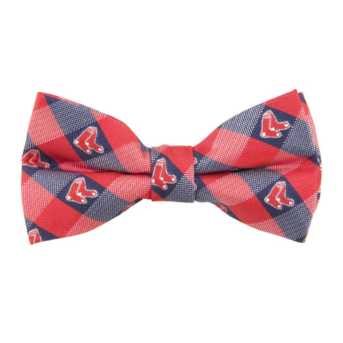 Boston Red Sox Bow Tie Check