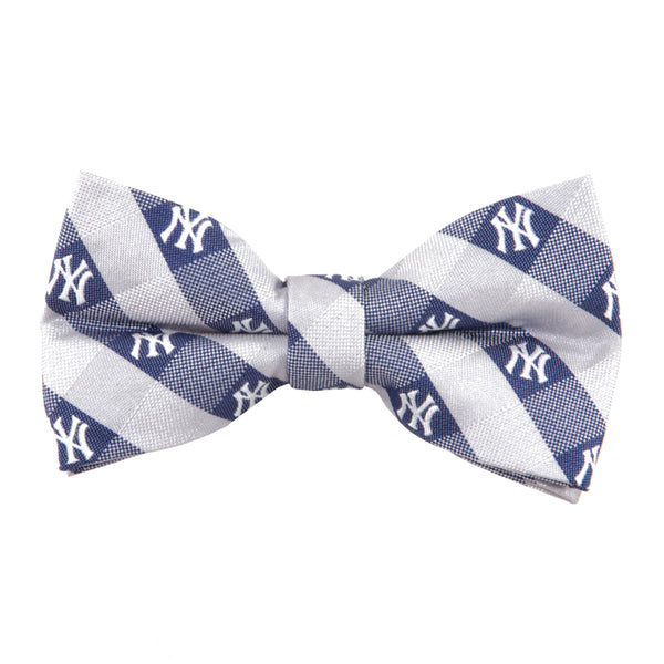 New York Yankees Bow Tie Check