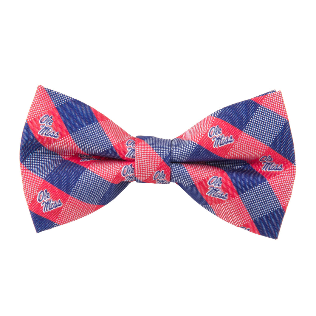 Ole Miss Rebels Bow Tie Check