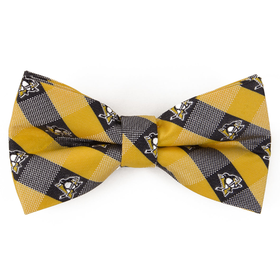 Penguins Bow Tie Check