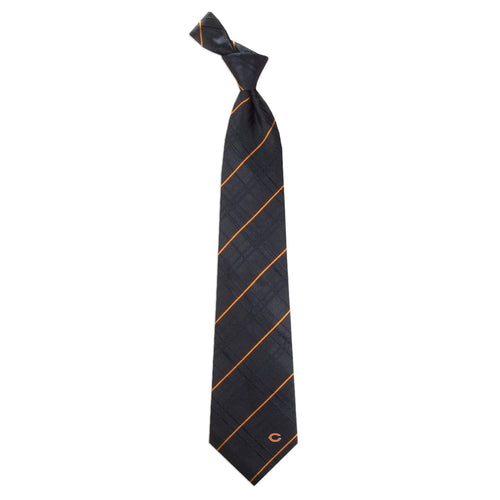 Chicago Bears Tie Oxford Woven