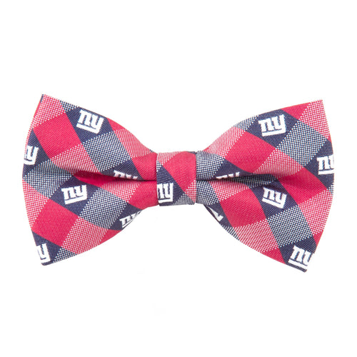 New York Giants Bow Tie Check