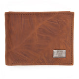 Texas Tech Red Raiders Brown Bi Fold Leather Wallet