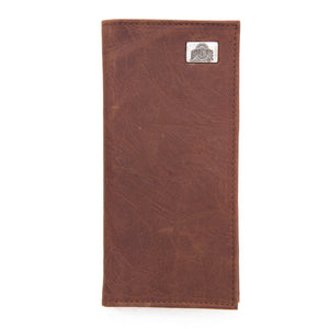 Ohio State Buckeyes Brown Secretary Leather Wallet