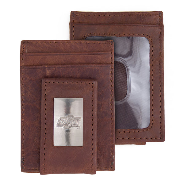 Oklahoma State Wallet Front Pocket