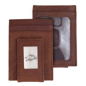 Arkansas Razorbacks Wallet Front Pocket