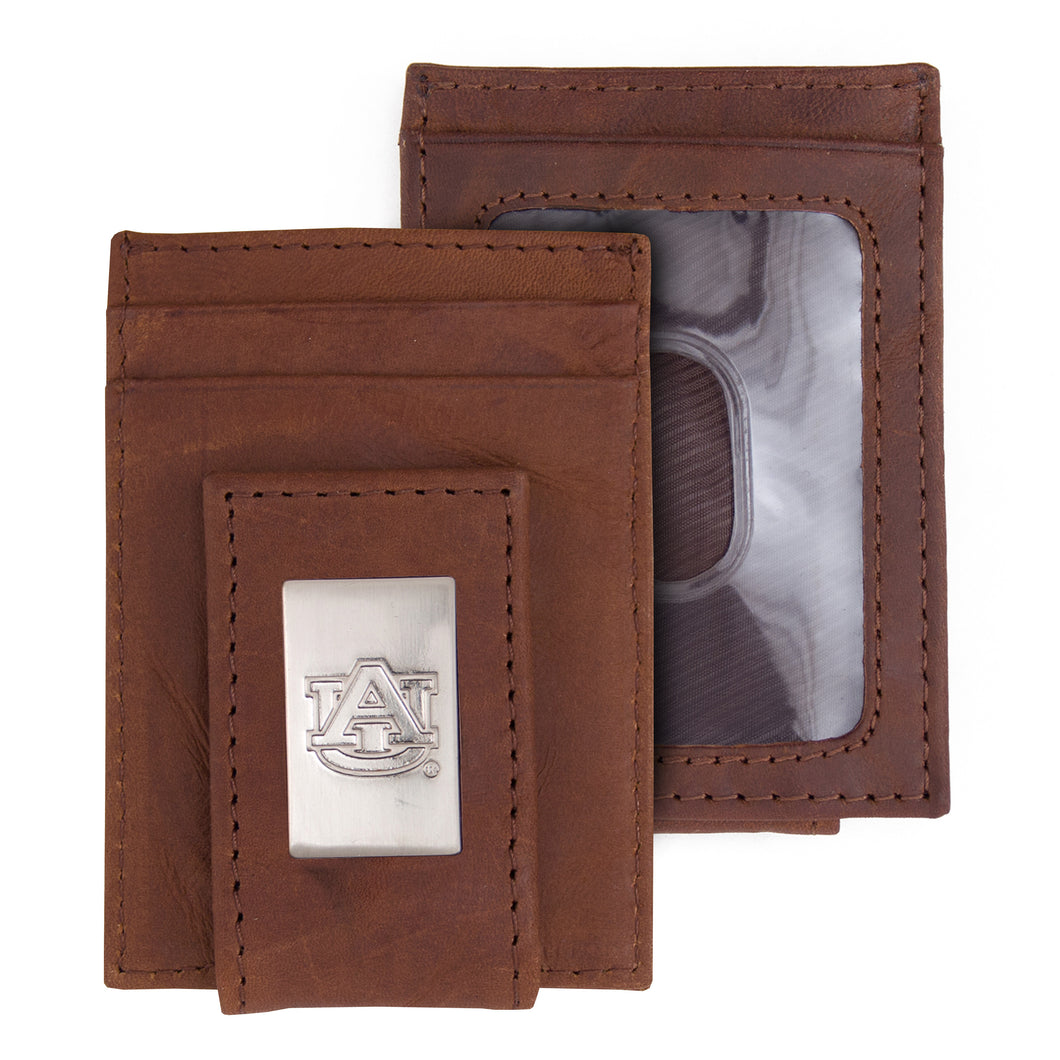Auburn Tigers Wallet Front Pocket