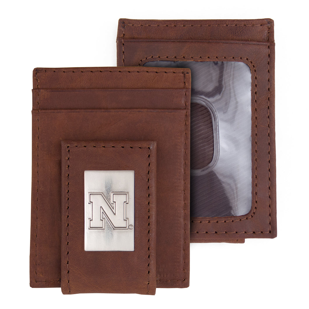 Nebraska Wallet Front Pocket