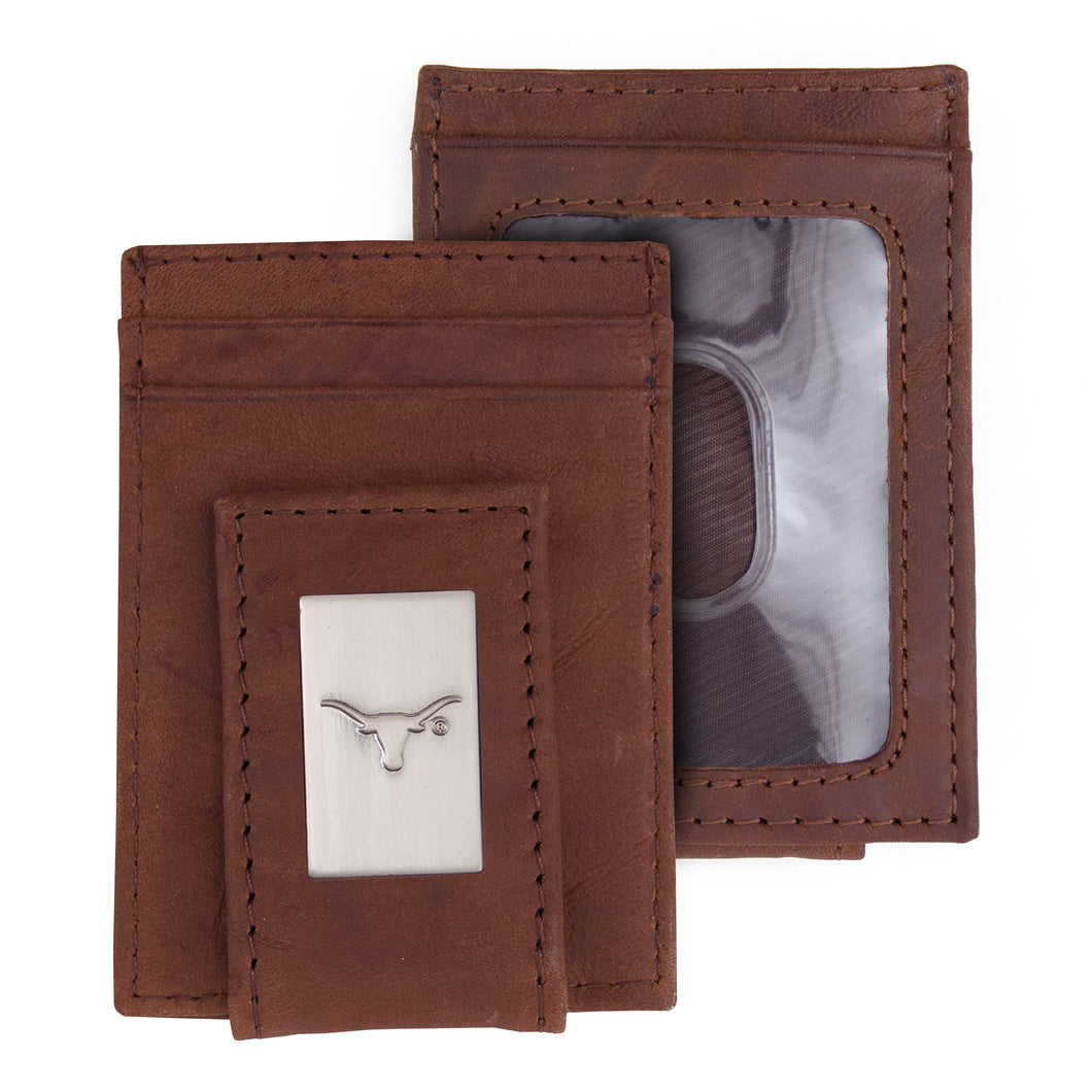 Texas Longhorns Front Pocket Wallet
