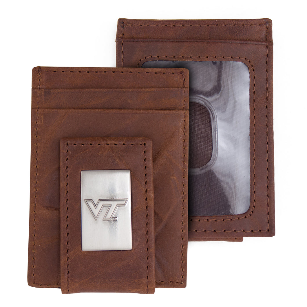 Virginia Tech Wallet Front Pocket