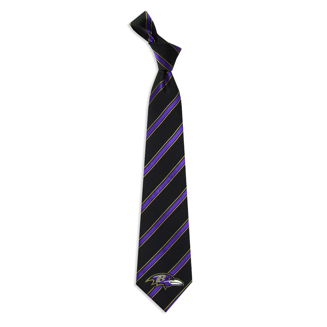 Baltimore Ravens Tie Woven Poly 1