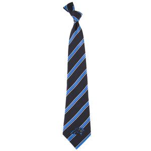 Carolina Panthers Tie Woven Poly 1