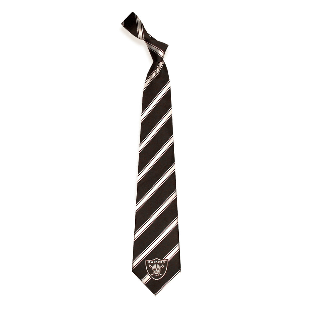 Oakland Raiders Tie Woven Poly 1