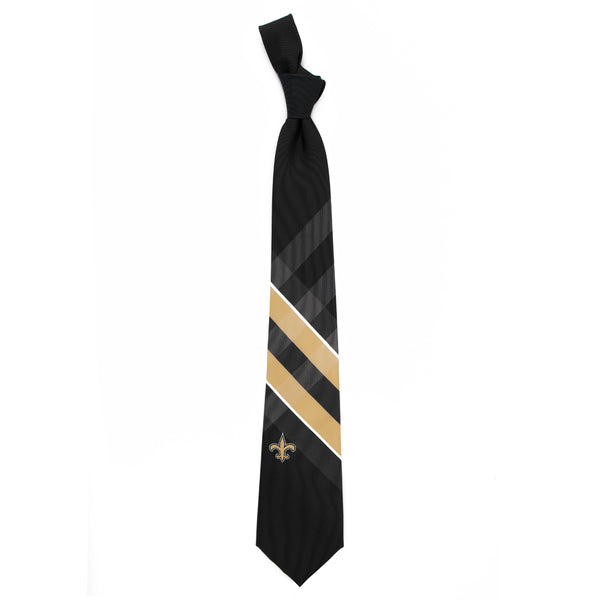 New Orlean Saints Grid Necktie