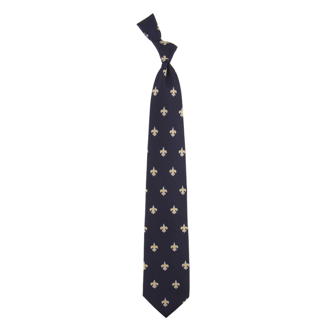New Orleans Saints Tie Prep