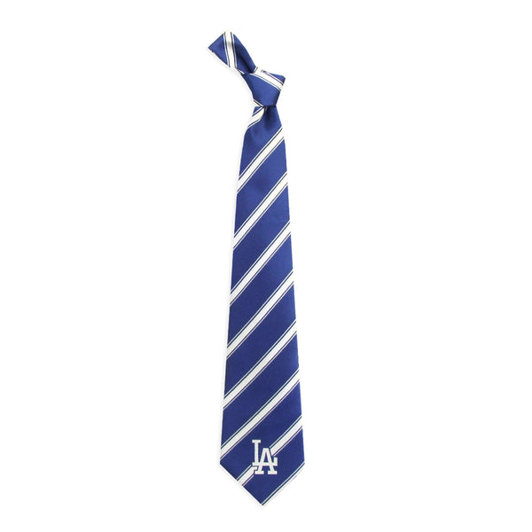 Dodgers Tie Woven Poly 1